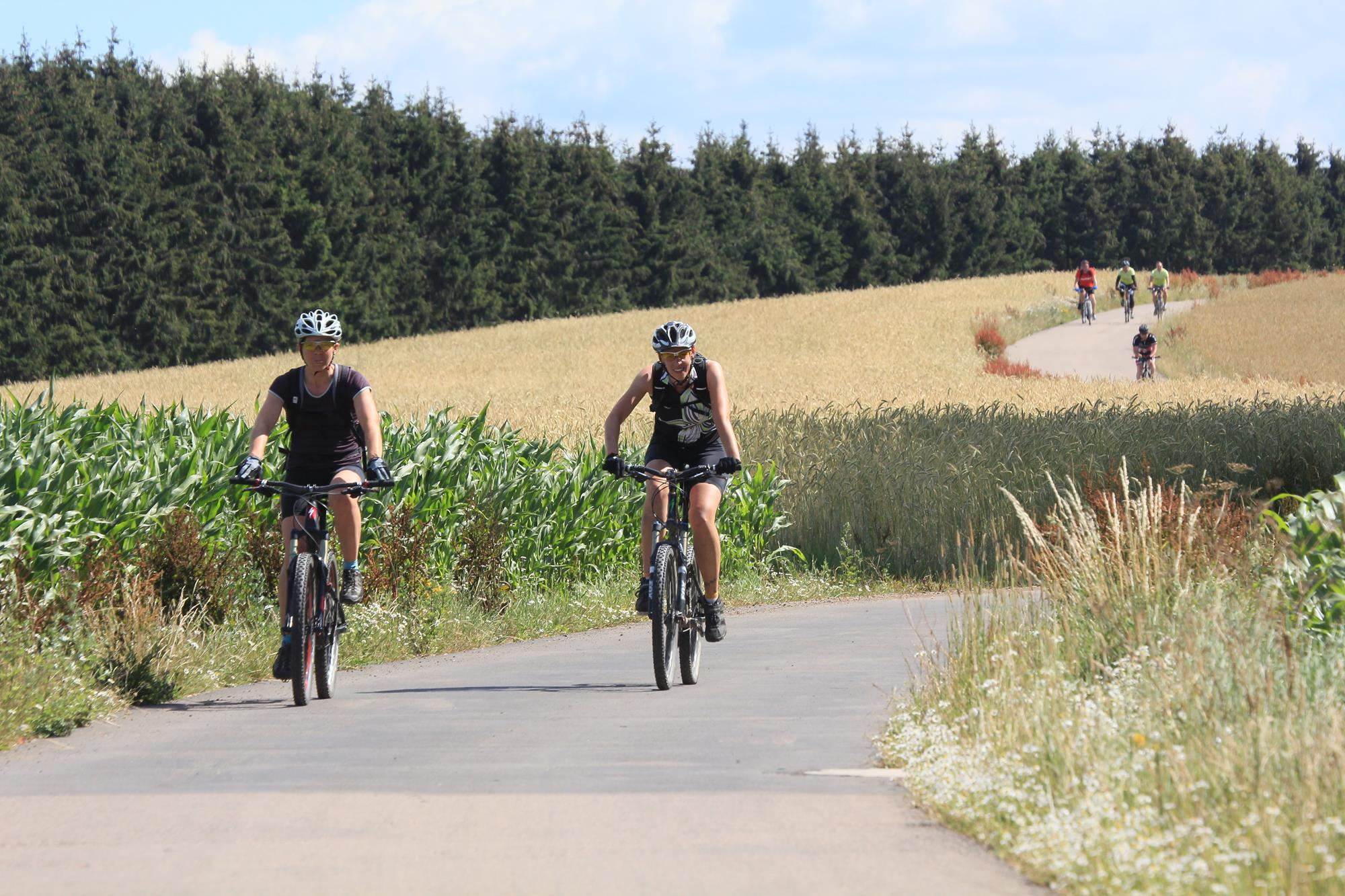 Exceptional cycling trails