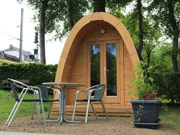 An attractive offer of  Glamping at the Camping Troisvierges